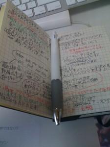 MOLESKINE手帳