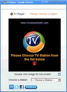 chromeTV