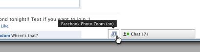 facebook フェイスブック photo zoom