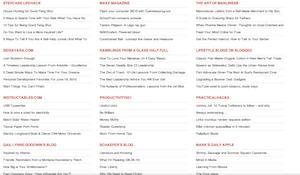 海外の86個のライフハックブログまとめサイト
