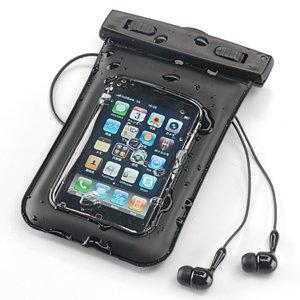 シースルー 防水ケース iPhone iPod iPhone4 対応 防滴ケース  200-PDA016