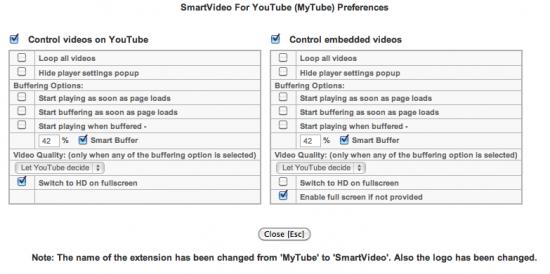 youtube 便利 設定