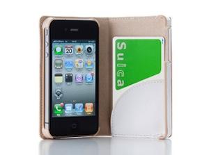 Simplism iPhone 4用フリップノートスタイルレザーケース(キャメル) TR-FNIP4-CM