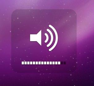 mac osx volume