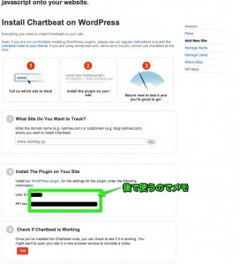 chartbeat wordpress