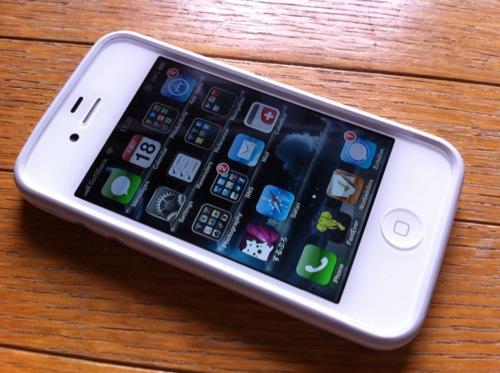 iPhone4S バンパー