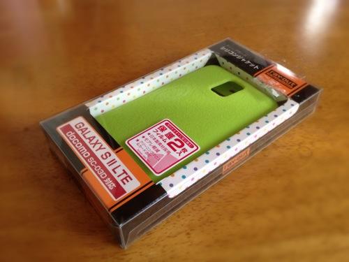 GALAXY S II LTE SC-03D用のケース