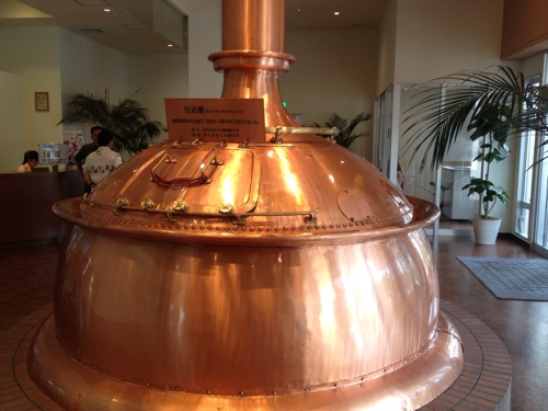 オリオンビール工場   見学