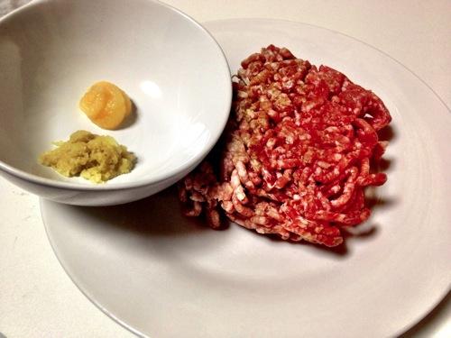 餃子 ひき肉