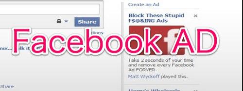 Facbeook ad block