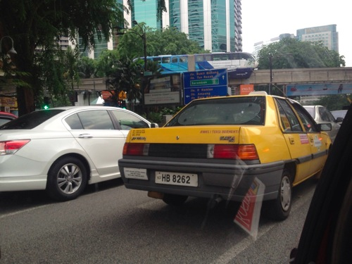 タクシー マレーシア