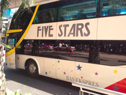 five stars travel