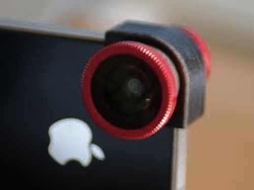 Olloclip Quick-Connect Lens Solution for iPhone 4S/4 Red