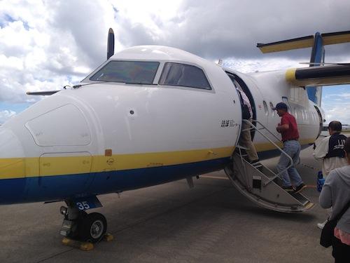 北大東島 南大東島 飛行機