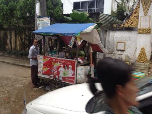 ミャンマー 屋台