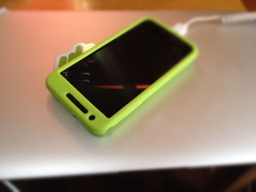 [Android]GALAXY S II LTE SC-03D用の充電器を100円ショップで買ってきた
