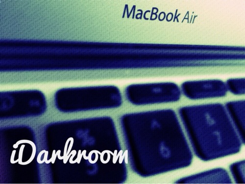 iDarkroom 素人でも簡単にかっこいい画像加工が出来るiPhoneアプリ