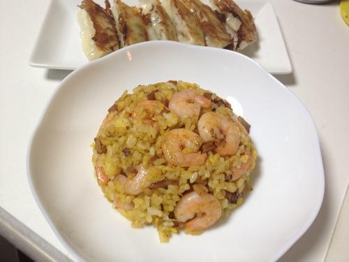 10分でパラパラえび炒飯(チャーハン)を作る方法