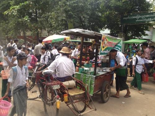 ミャンマー ヤンゴン市内を散策してきたよ。