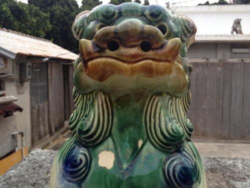 [沖縄] 渡名喜島で見つけたシーサー達