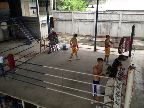 ボクシング タイ