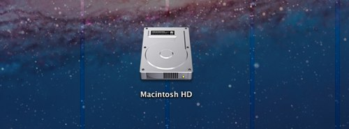Macintosh HD(ハードディスク)をデスクトップ・Finderに表示する方法 MacOSX10.7 Lion