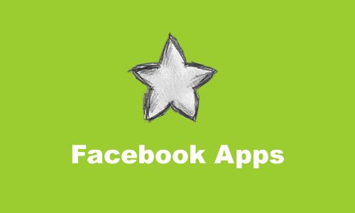Facebookアプリの人気ランキング