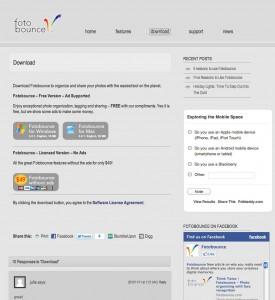 Facebook、Flickrのアルバムを一括ダウンロードできるfotobounceが便利