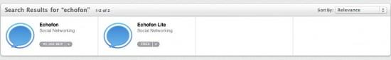 EchoFon for MacがMac App Storeにやってきた