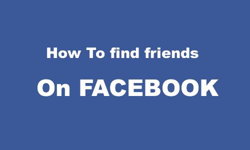 Facebookで友達を探す方法 名前やメールアドレス・出身地