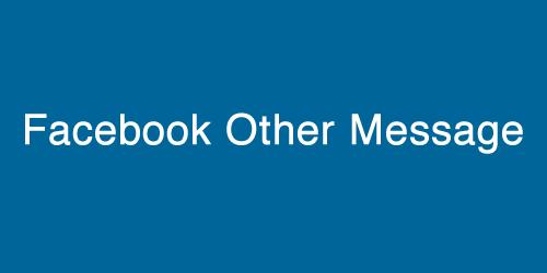 Facebook 「その他のメッセージ」を「メッセージ」に移動させて通知させる方法