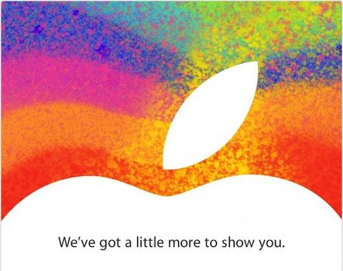 Appleがアメリカ時間10月23日にイベントを開催すると発表 iPad miniの発表はいかに?