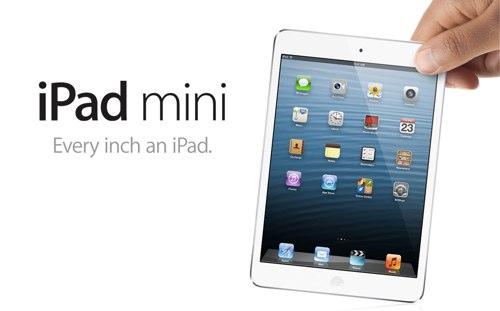 7.9インチのiPad miniが16GB 28,800円〜11月2日より発売開始!