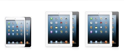 iPad miniが本日より予約開始になりました。