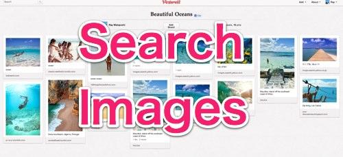 Pinterest 自分の好きな画像・写真を検索する方法