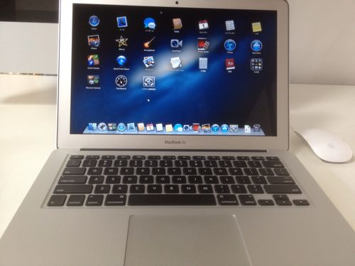 [開封の儀]MacBook Air(13-inch,Mid 2012)を購入しました。