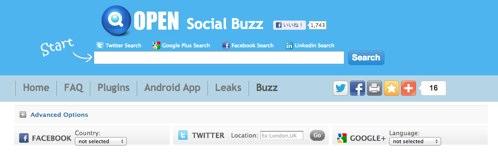 Social Searcherの提供するfacebookリアルタイムサーチが良い感じ