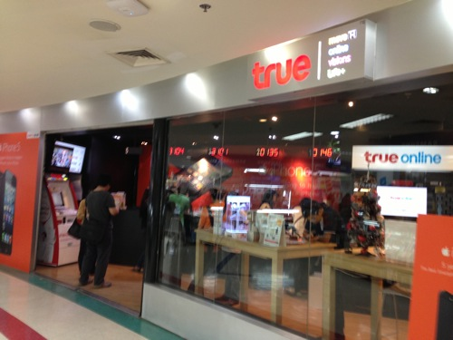 タイでSimロックフリーiPhone5のプリペイドSimをTrue Move Hにしてきた。 | #ブログ観光大使