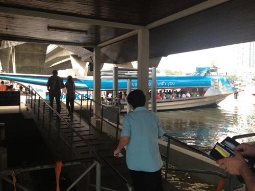 水上バス タイ