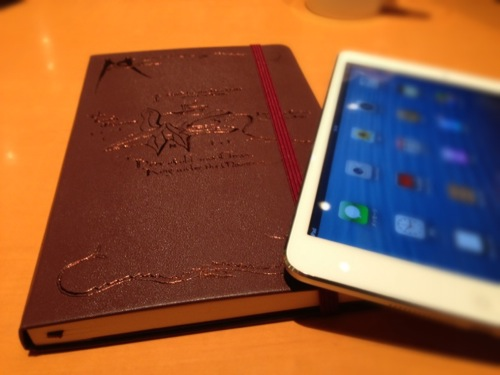 モレスキン[Moleskine] The Hobbit Limited Edition Notebookを購入しました。