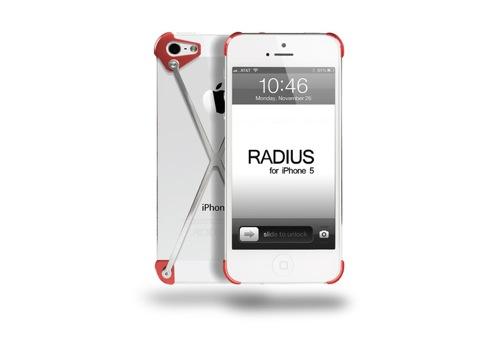 iPhone5のデザインを崩さないケース 超軽い「RADIUS Case」がカッコいい