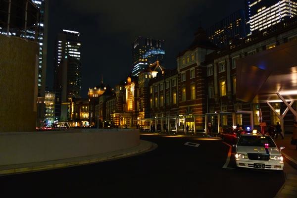 東京駅 夜景 RX100 sony