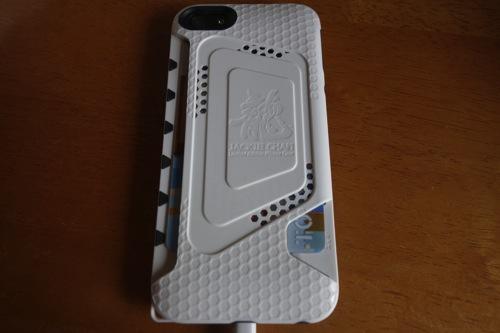 海外トラベラー・SimフリーiPhone5ユーザー向けのケース「Jackie Chan Limited Edition iPhone 5 Case」