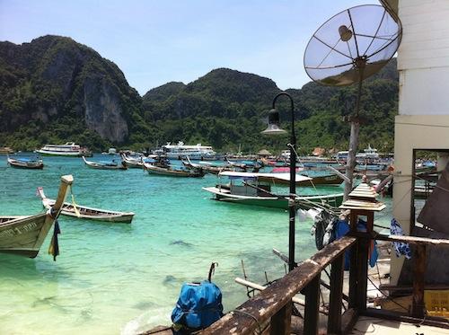 海外冒険  タイ・ピピ島1人旅のすすめ
