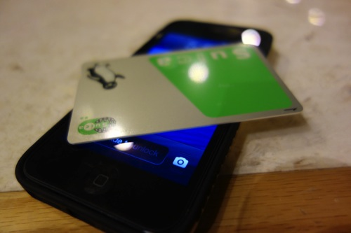 iPhone 5S お財布機能