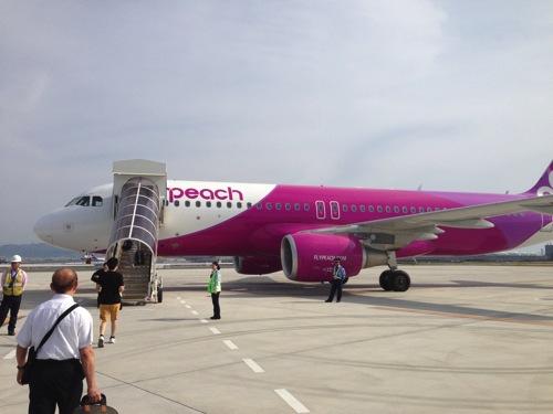 【LCC】Peachで関空から台湾(桃園国際空港)まで、3,900円で行ってきました。