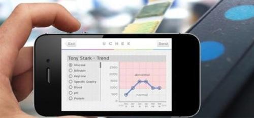 尿検査 iPhone