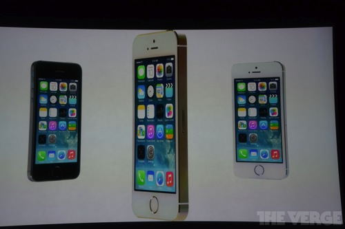 iPhone 5S 三色 ゴールド