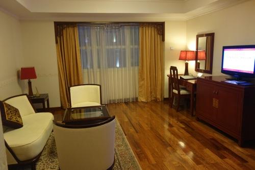 レックスホテル リビングルーム