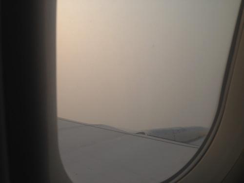 上海浦東空港 大気汚染